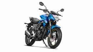 2018 Suzuki Gixxer Blue colour option