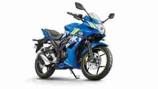 2018 Suzuki Gixxer SF Blue ECSTAR colour option