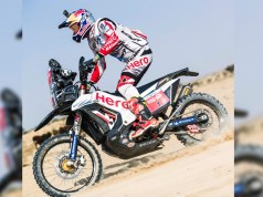 CS Santosh and Hero MotoSports Team Rally out of Desert Storm 2018
