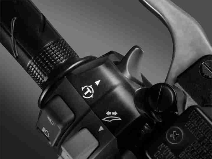 New Honda Forza 300 switch gear