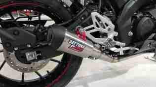 Yamaha R15 V3 daytona exhaust muffler silencer