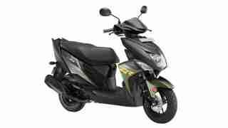 Yamaha Ray ZR Green colour option
