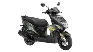 Yamaha Ray ZR Green colour option