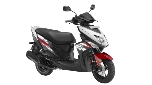 Yamaha Ray ZR Rooster Red colour option