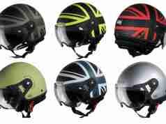 Bunker Rack SBH 10 helmets from Steelbird