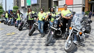 Ladies of Harley hit the Golden Quadrilateral