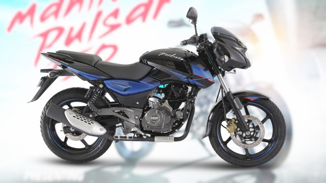 New Pulsar 150 twin disc