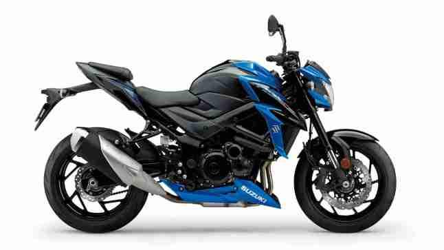 Suzuki GSX-S750 Blue