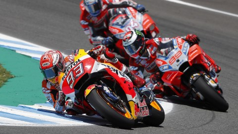 Another Marquez show at MotoGP Jerez 2018