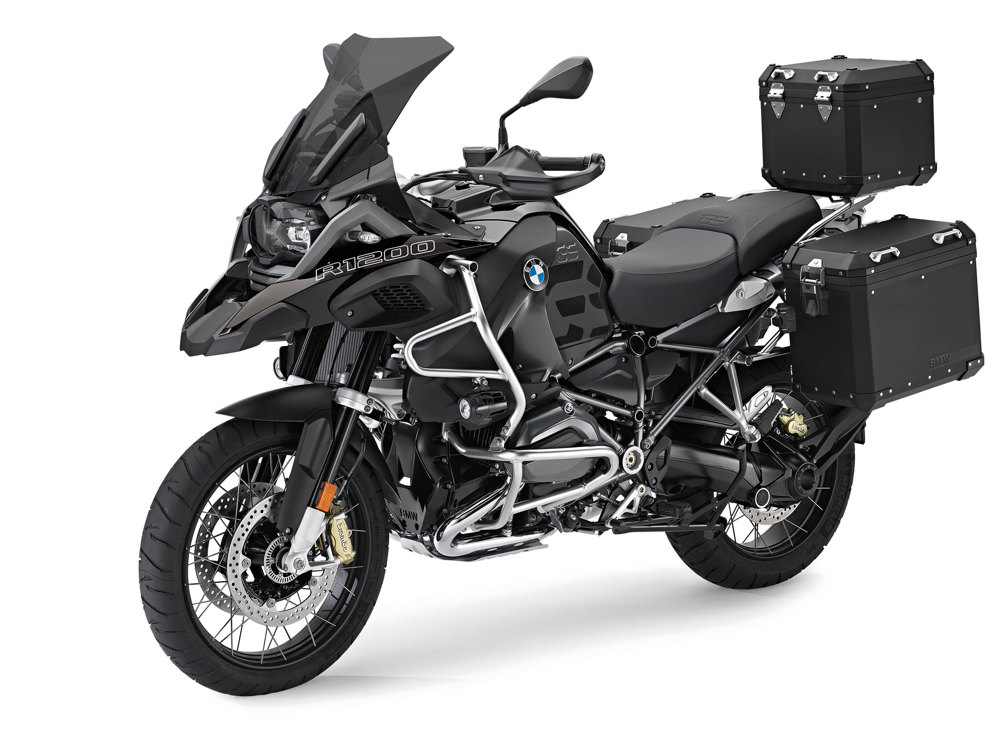 Edition Black accessories for BMW R 1200 GS and R 1200 GS Adventure