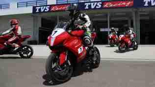 TVS RR One Make Series riders