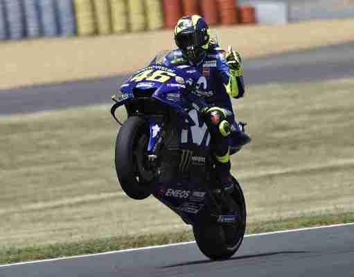 Valentino Rossi HD wallpaper MotoGP Le Mans
