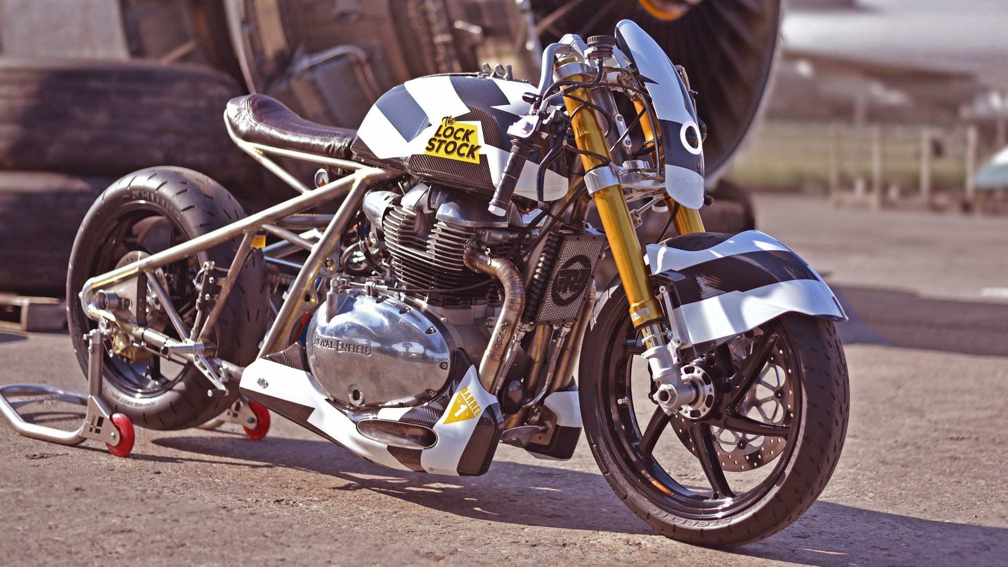 The 'Interceptor' – By Old Empire Motorcycles - Base Interceptor 650