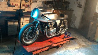 'Rohini' – By Young Guns Speed Shop -Base Continental GT 650 Twin