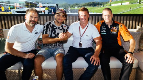 Jorge Martin moves up to Moto2 with Red Bull KTM Ajo team