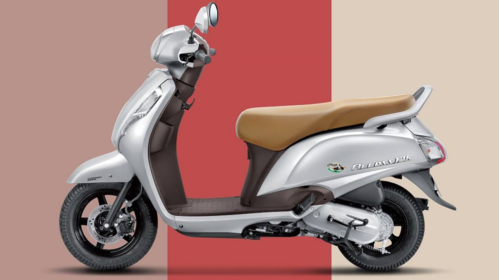 Suzuki Access 125 with CBS combi braking