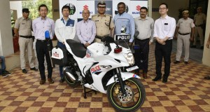 Suzuki Gixxer SF for Indian Police