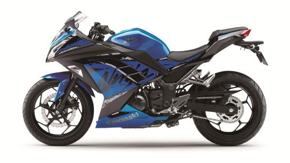 2019 Kawasaki Ninja 300 Blue colour option for India