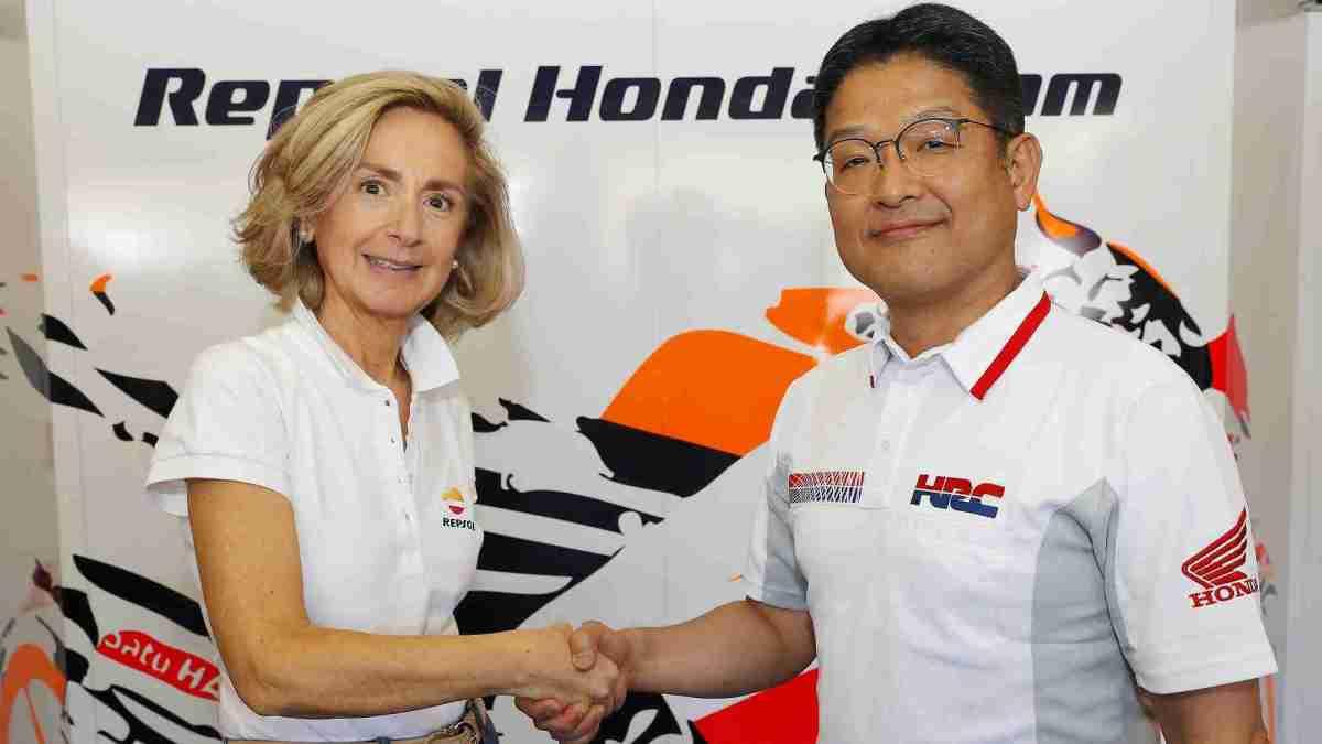 Repsol and Honda renew contract