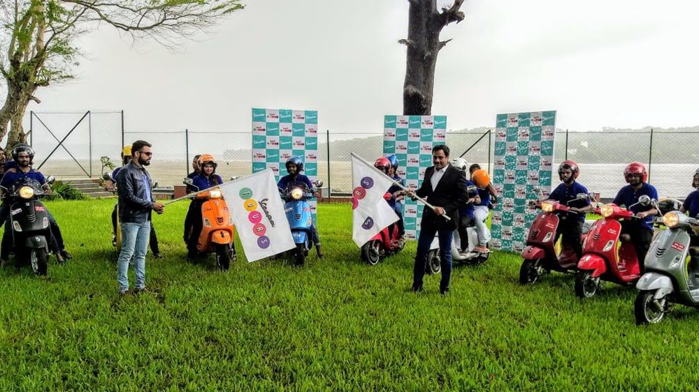 Vespa Tours by Piaggio now in India