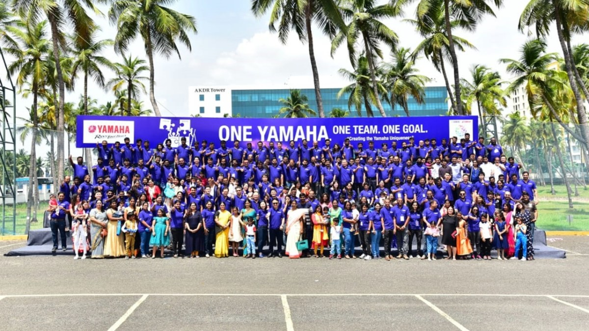 Yamaha celebrates its 63rd anniversary