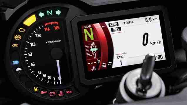 2019 Kawasaki Ninja H2 speedometer