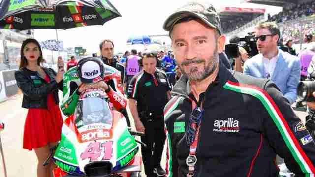 Max Biaggi now Global Ambassador for Aprilia