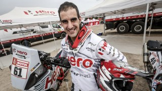 Oriol Mena, Rider, Hero MotoSports Team Rally