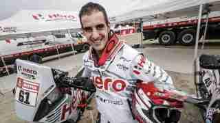 Oriol Mena, Rider, Hero MotoSports Team Rally