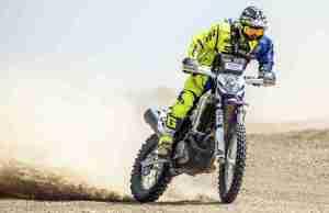 Sherco TVS Rally Factory Team's Lorenzo Santolino wins India Baja 2018