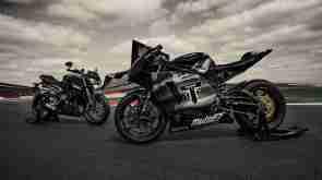 Triumph Moto2 engine race ready version showcased