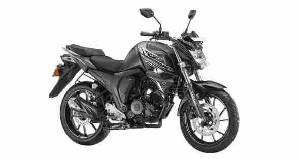 Yamaha FZS-FI DARKNIGHT colour option