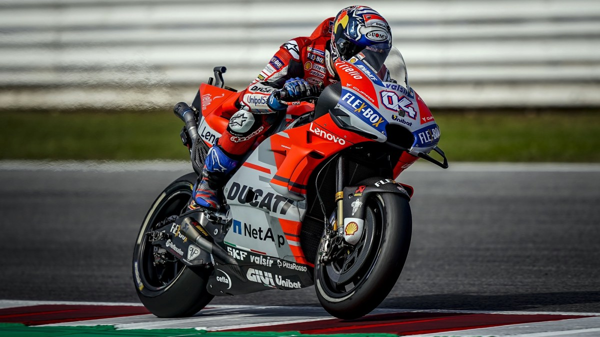 Andrea Dovisiozo dominates Misano in style