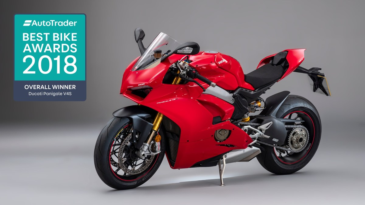 Ducati Panigale V4 S gets Autotrader Bike of the Year award