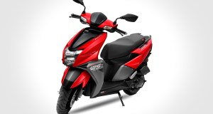 New TVS NTORQ 125 Metallic Red colour option