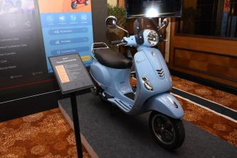 New updated Vespa India