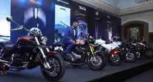Motoroyale announces 5 motorcycle brand tie up