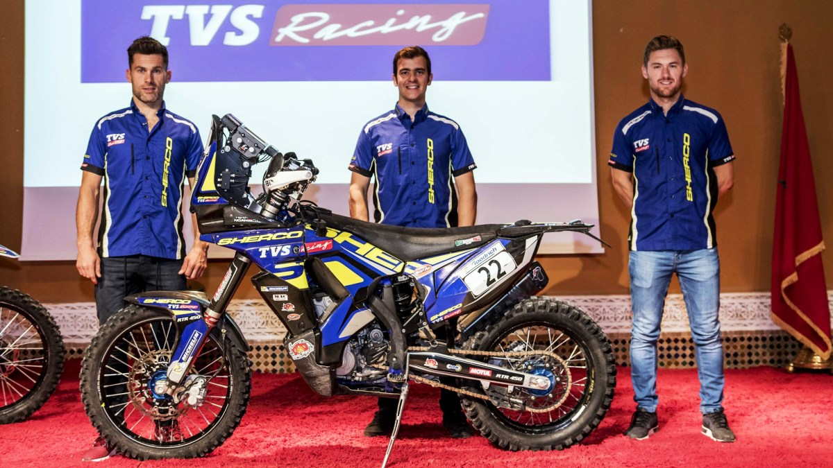Sherco TVS Rally Factory Team announces riders for Dakar 2019