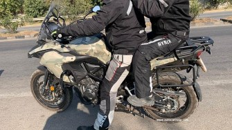Benelli TRK 502 X spotted in India