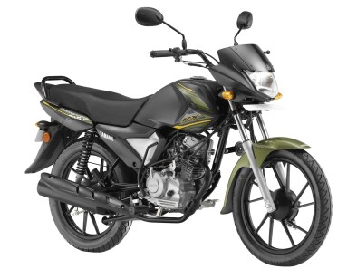 Yamaha Saluto RX - Matt green