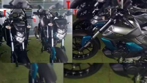 2019 Yamaha FZ-S ABS spotted