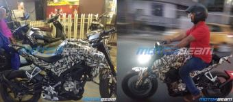 CFMOTO 250NK spotted testing in India