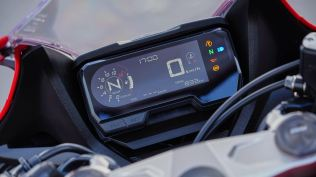 Honda CBR650R India digital meter