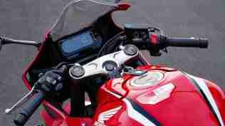 Honda CBR650R India handle bar