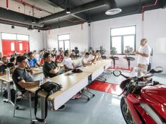 Training at Ducati APAC Training Center