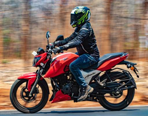 TVS Apache RTR 160 4V review