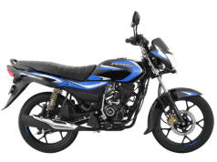 Bajaj Platina 110 H-Gear in new blue colour