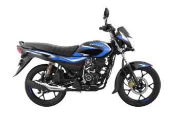 Bajaj Platina 110 H-Gear in new blue colour