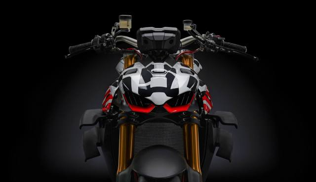 Ducati Streetfighter V4 prototype headlight