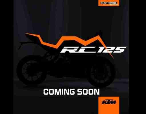 KTM RC 125 teaser image
